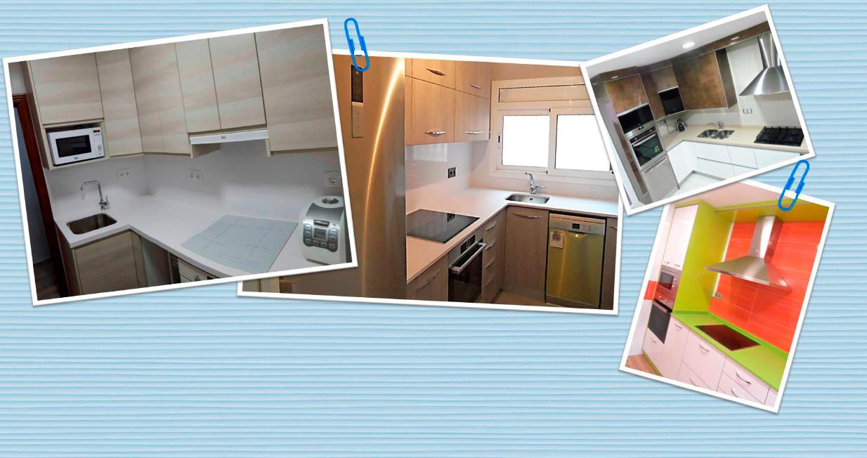 Imagen para el Carrusel con fotografías de reformas de cocinas