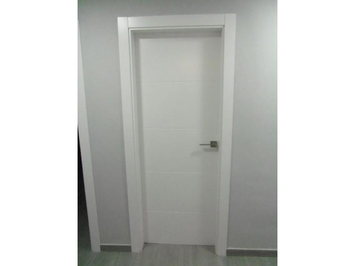 Puertas lacadas en blanco cocinas franc - Puertas lisas blancas ...