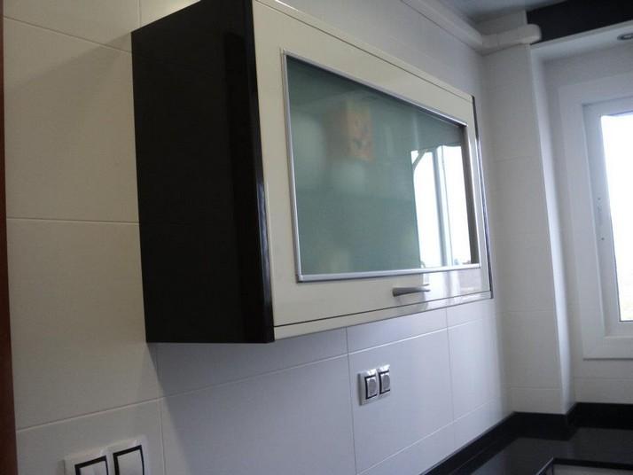 Muebles de cocina en color blanco luxe
