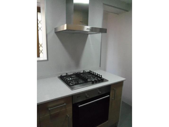 Cocina roble y blanco  Muebles de cocina a medida Cocinas Franc