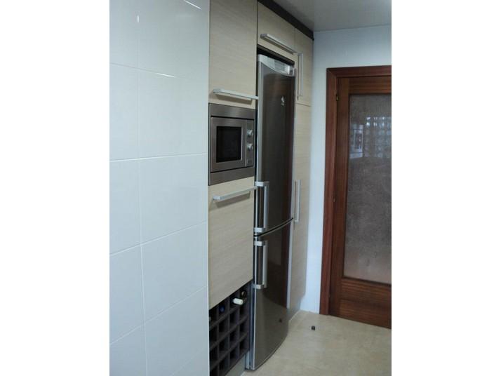 Muebles de cocina a medida en roble claro