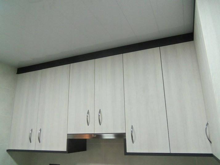 Muebles de cocina blanco finest cocina blanca con estilo for Muebles de cocina fenix